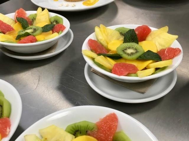 Collège Culinaire Salade de fruits frais
